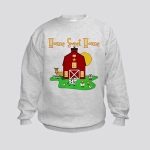 Scott Designs Farm Life Kids Sweatshirt